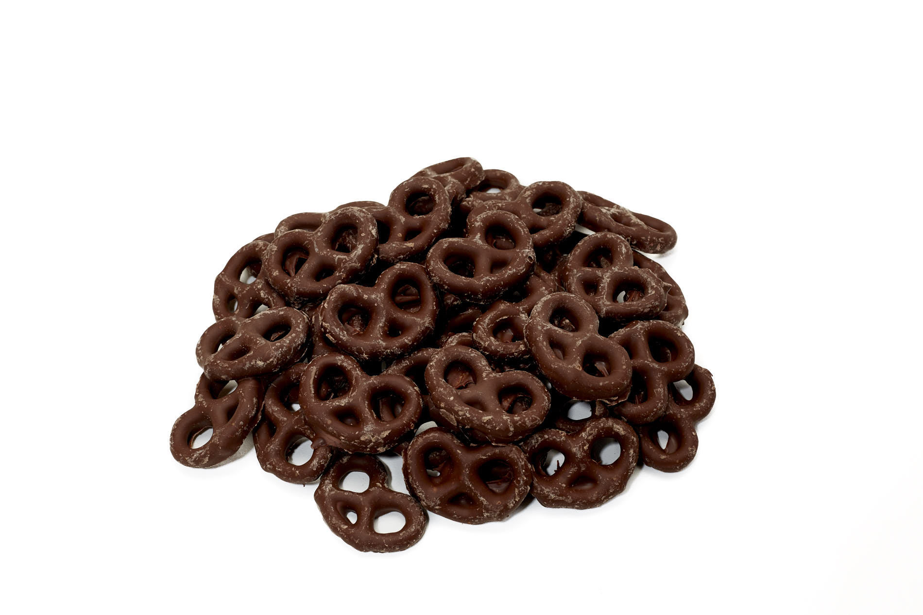 Chocolate-covered pretzels