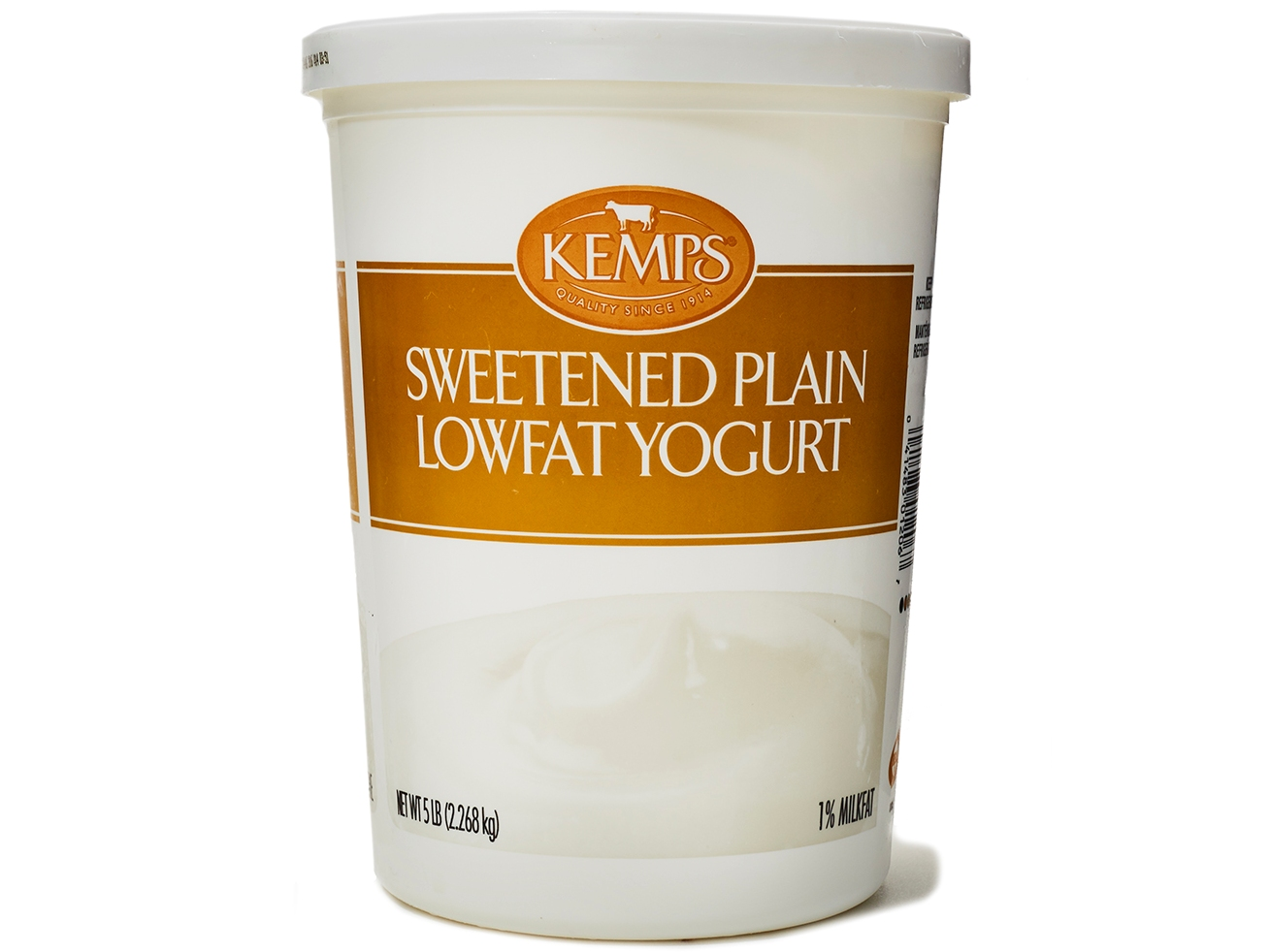 Kemps Sweetened Plain Lowfat Yogurt
