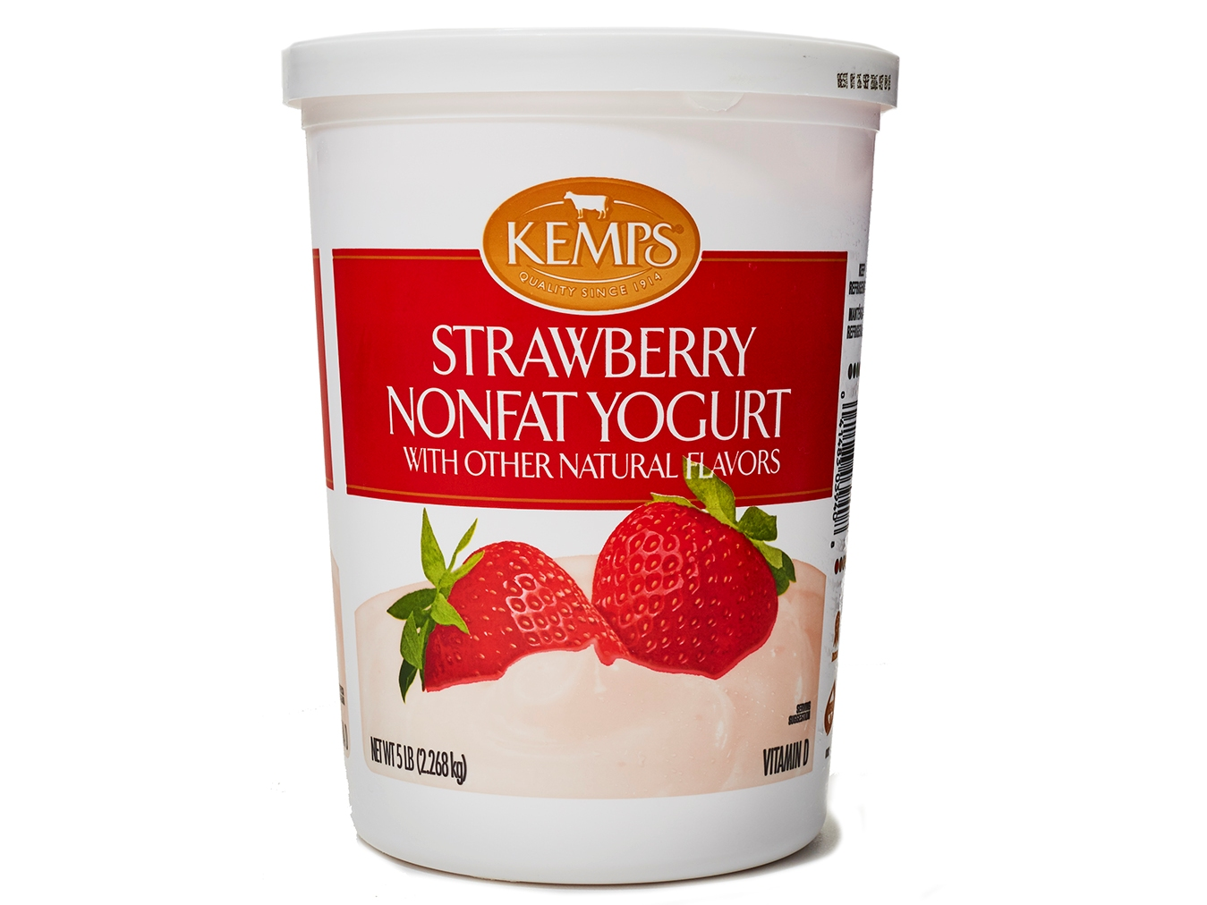 Kemps Strawberry Nonfat Yogurt